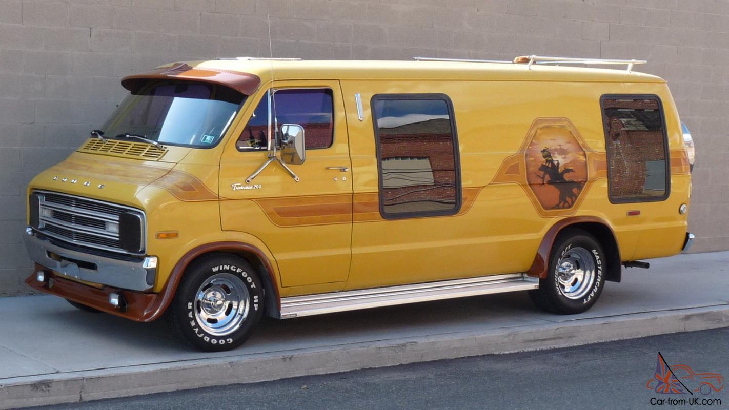 Grand Spaulding Dodge Original Custom Extended Van Ram