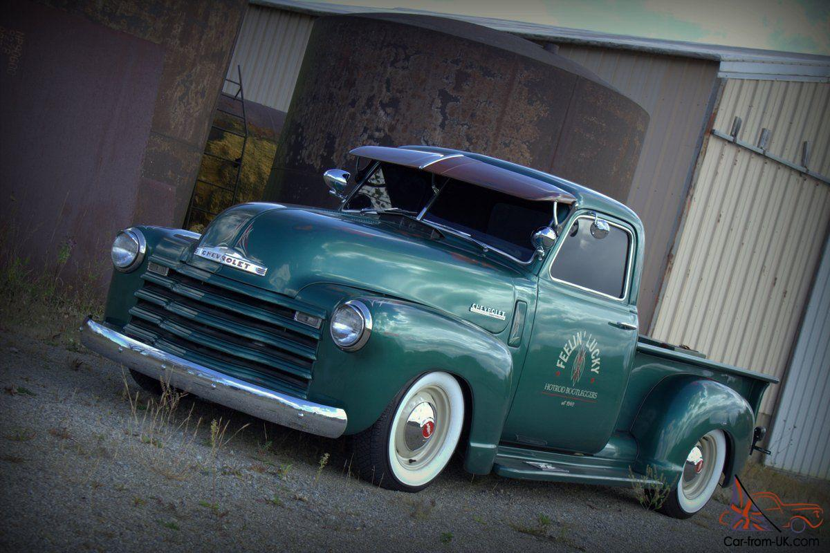 Pickup 1949 chevrolet pickup : CHEVY RAT ROD PATINA HOTROD / CUSTOM PICKUP RATROD