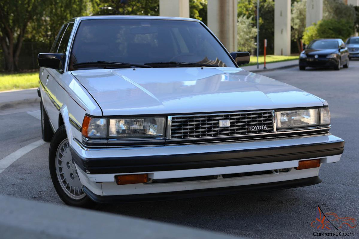 Toyota Cressida Luxury Sedan 4 Door
