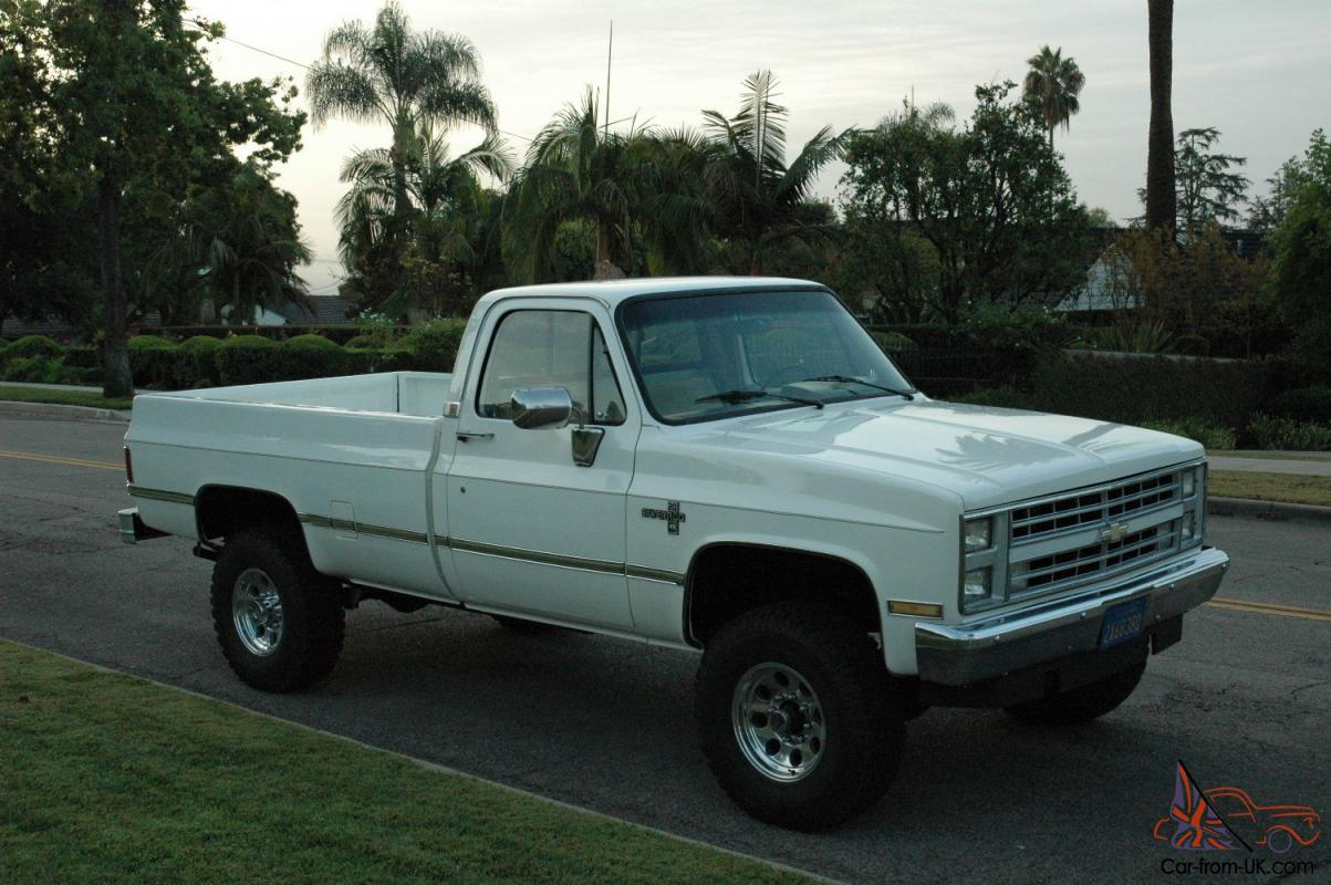 86 Chevy Truck For Sale