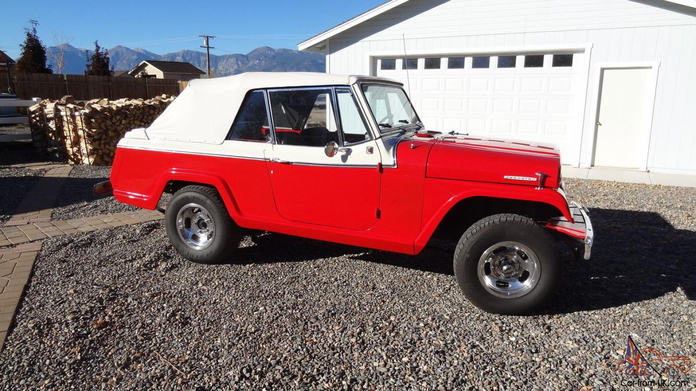 Jeep   Commando Jeepster Convertible