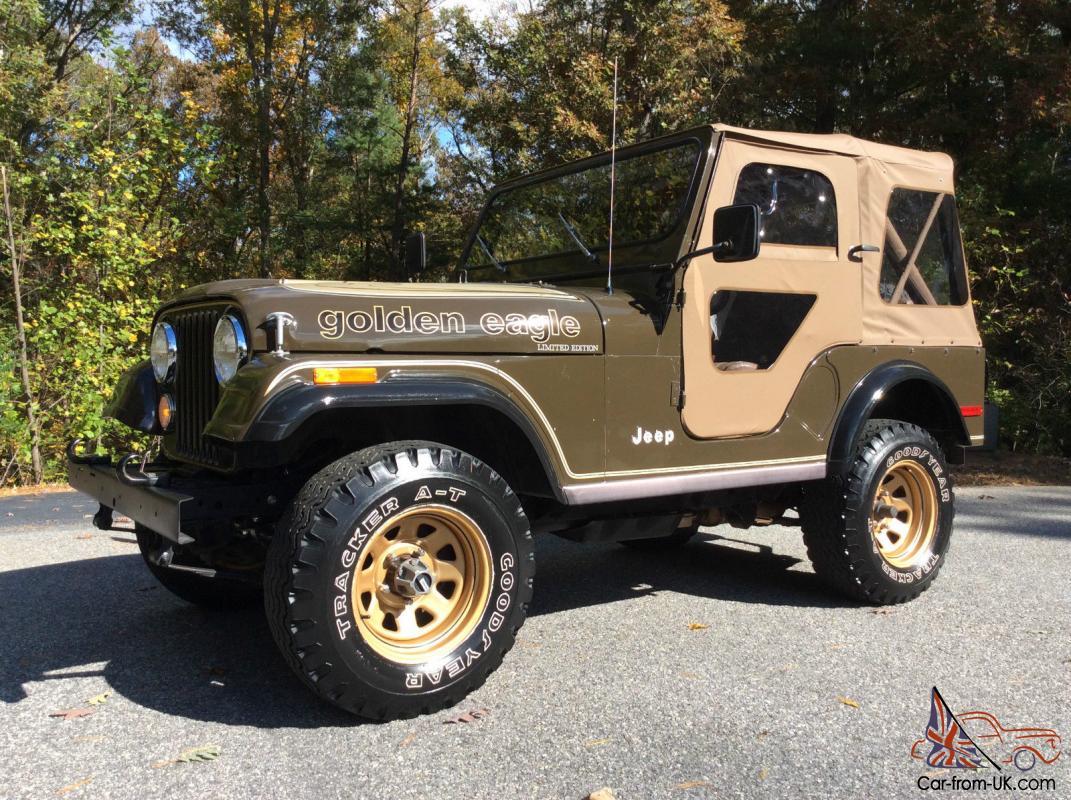 Jeep Cj Golden Eagle All Original