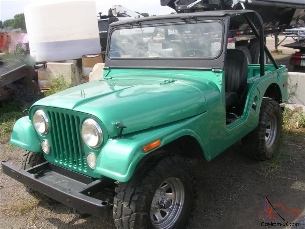 Jeep Bimini Top >> Willys Jeep Cj 5 Bimini Top Rustfree Western Climate Ready To Go
