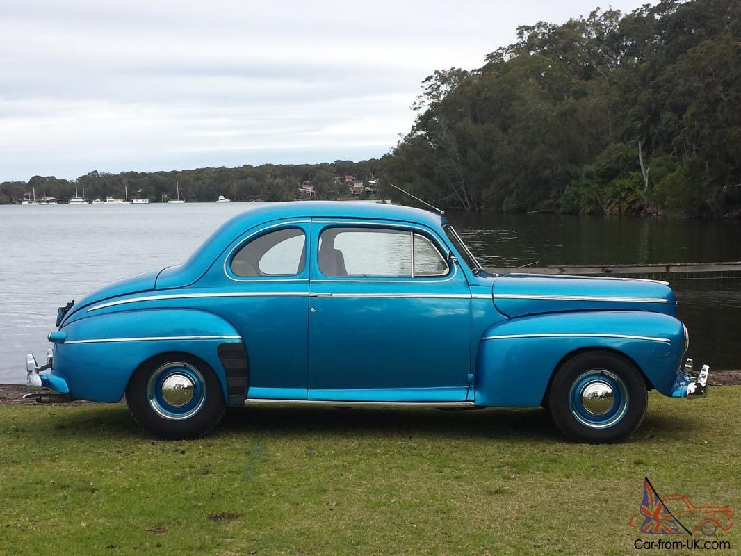 1942 Sedan Coupe Super Deluxe Ford Rare In Morisset Nsw
