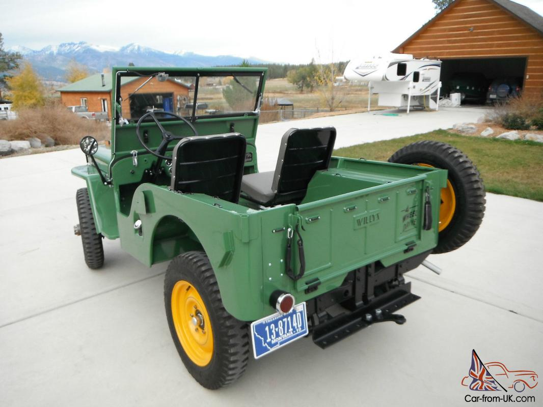 willys jeep cja