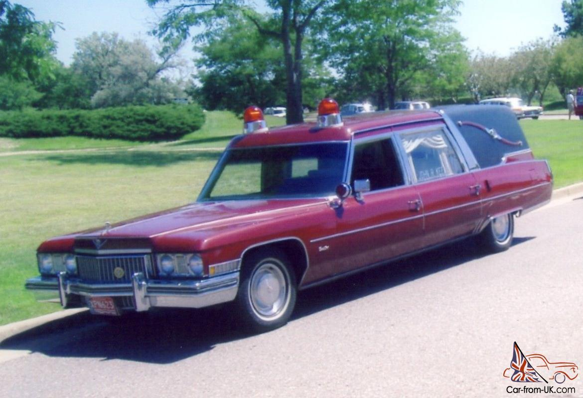 Cadillac : Other Superior Crown Sovereign Hearse Ambulance
