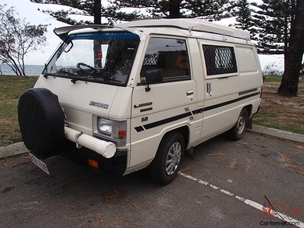 Mitsubishi L300 Starwagon 1983 2D Wagon 5 SP Manual 1 8L Carb