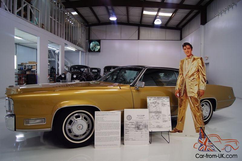 New Cadillac Eldorado >> Cadillac Eldorado Purchased New By Elvis Presley