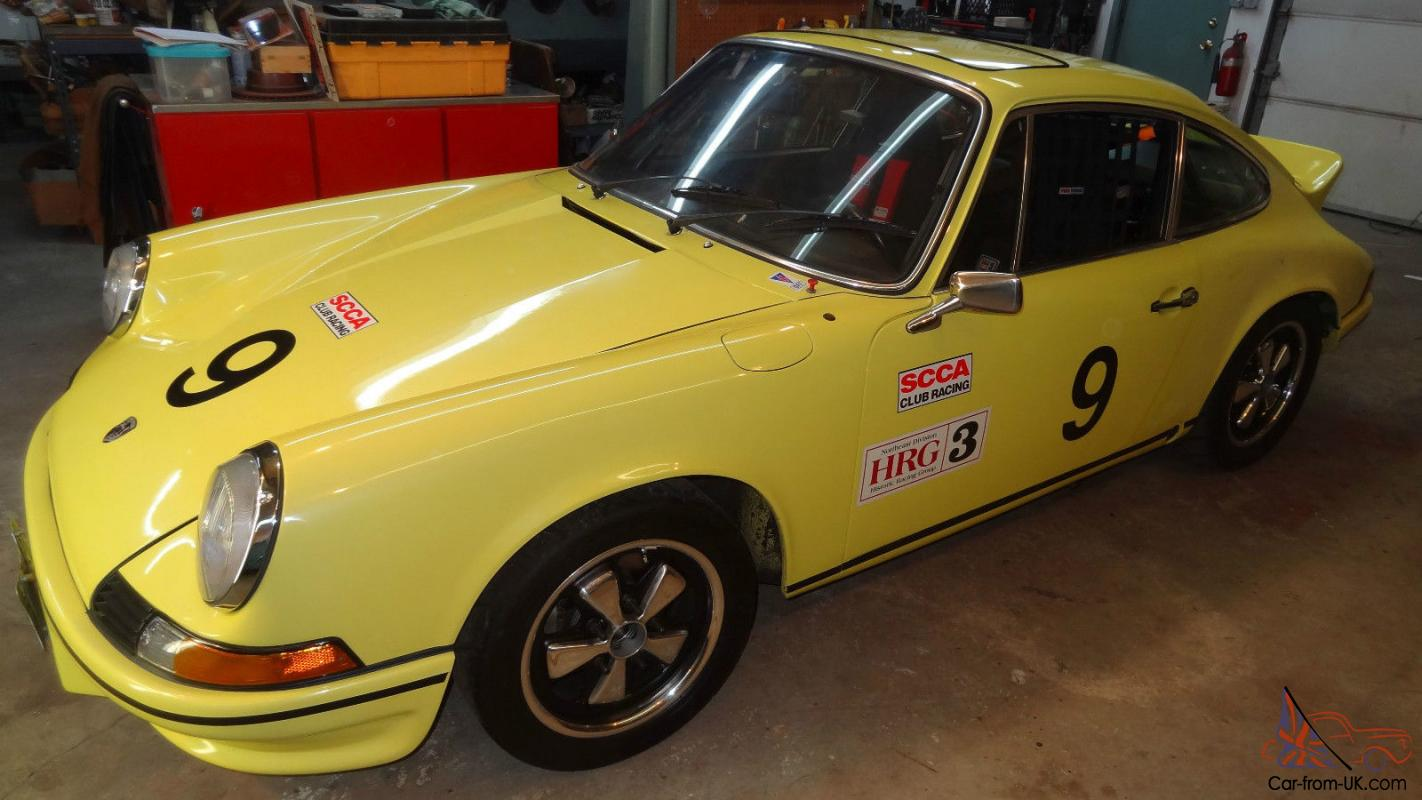 Porsche 911 Currently In Vintage Race Car Trim