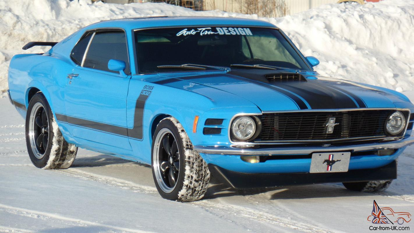 Ford Mustang 1970 Boss 302 Tribute Supercharged For Sale