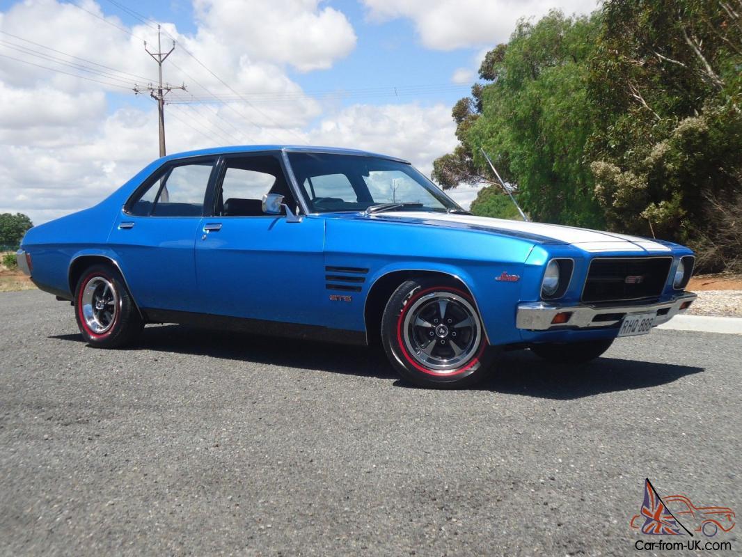 HQ GTS Holden Monaro Genuine 308 4 Speed Cyan Blue in Evanston Park, SA