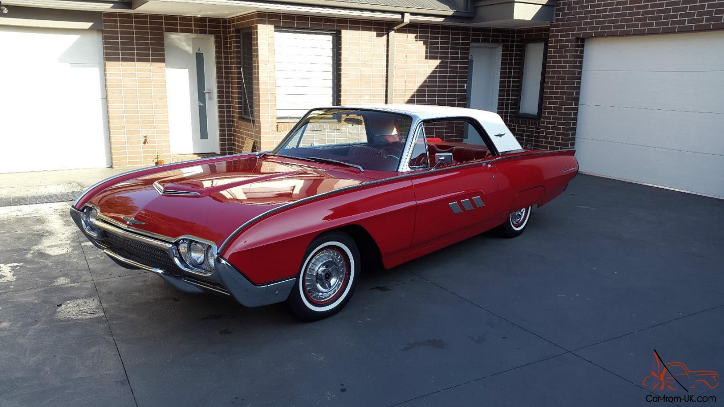 1963 Ford Thunderbird In Fawkner Vic