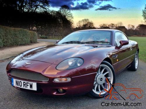 1995 Aston Martin Db7 3 2 Manual 38 000 Miles From New Stunning Condition