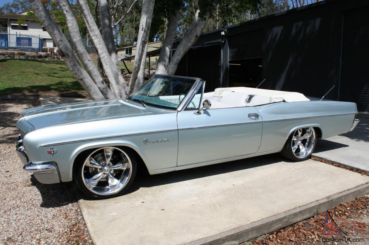Impala 1966 chevrolet impala : Chevrolet Impala Convertible 350CI 700R 20
