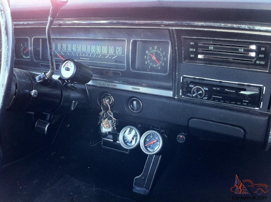 Impala 1968 chevy impala parts : Chevrolet Impala – 4 Door Pillarless – LHD