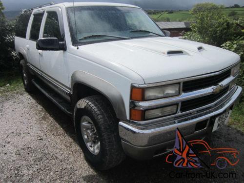 1998 Chevrolet Suburban 6 5 T Diesel 2500 Heavy Duty