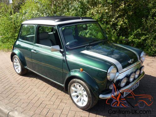 2000 Classic Rover Mini Cooper Sport In British Racing