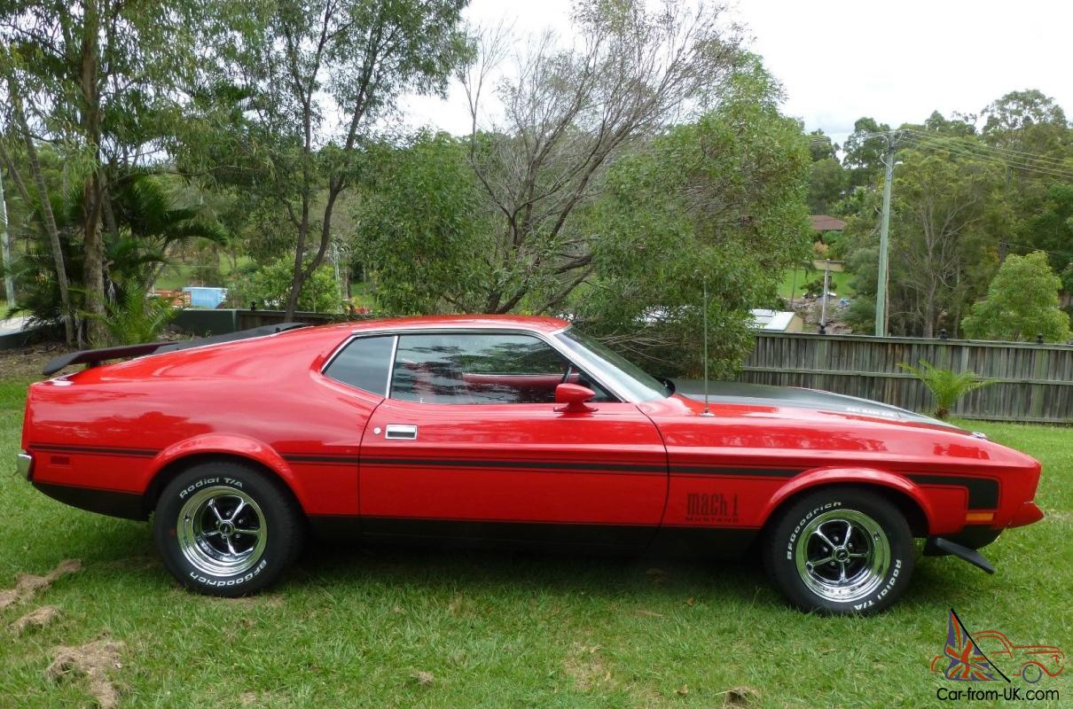 1971 ford mustang mach 1 in ashmore qld