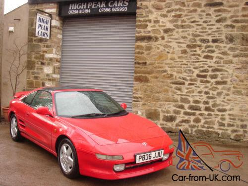 1996 P TOYOTA MR2 2 0 GT T BAR 72206 MILES ONE OWNER UNMOLESTED AND  STANDARD
