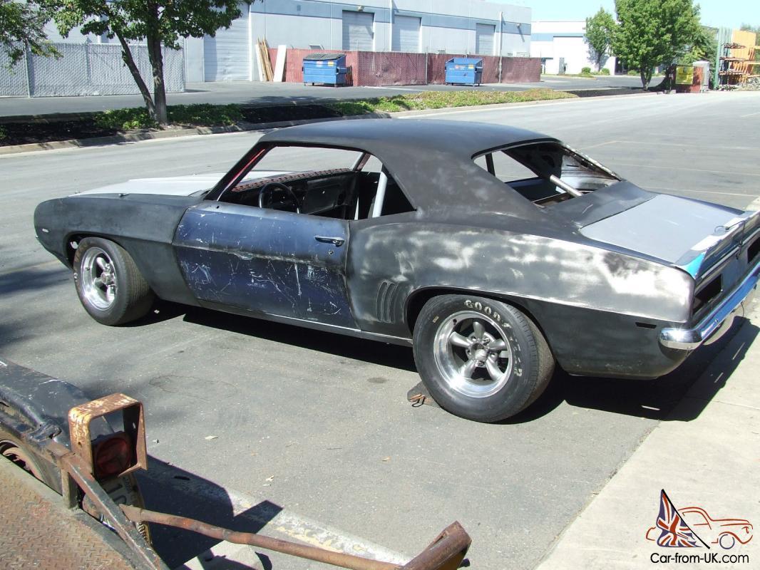 1969 Camaro Race Car Project