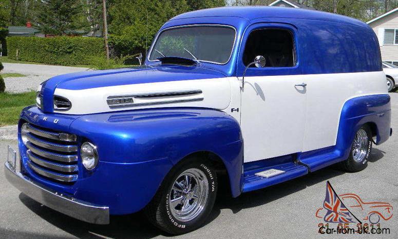 Ford : Other 2 door panel truck