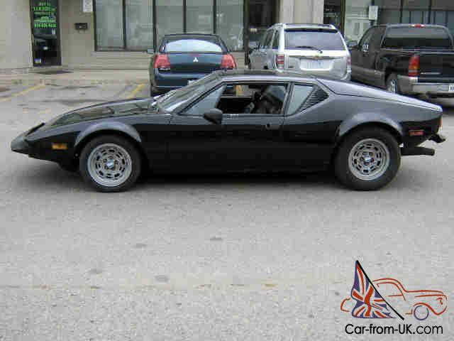 Ford Pantera For Sale >> Other Makes Detomaso Pantera 2 Door Coupe