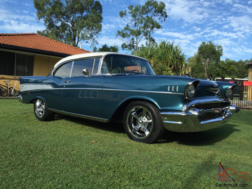 All Chevy 1957 chevy belair 4 door : Belair 1957 2 Door Hard TOP Chevrolet BEL AIR 1957 Chevy Cruiser ...