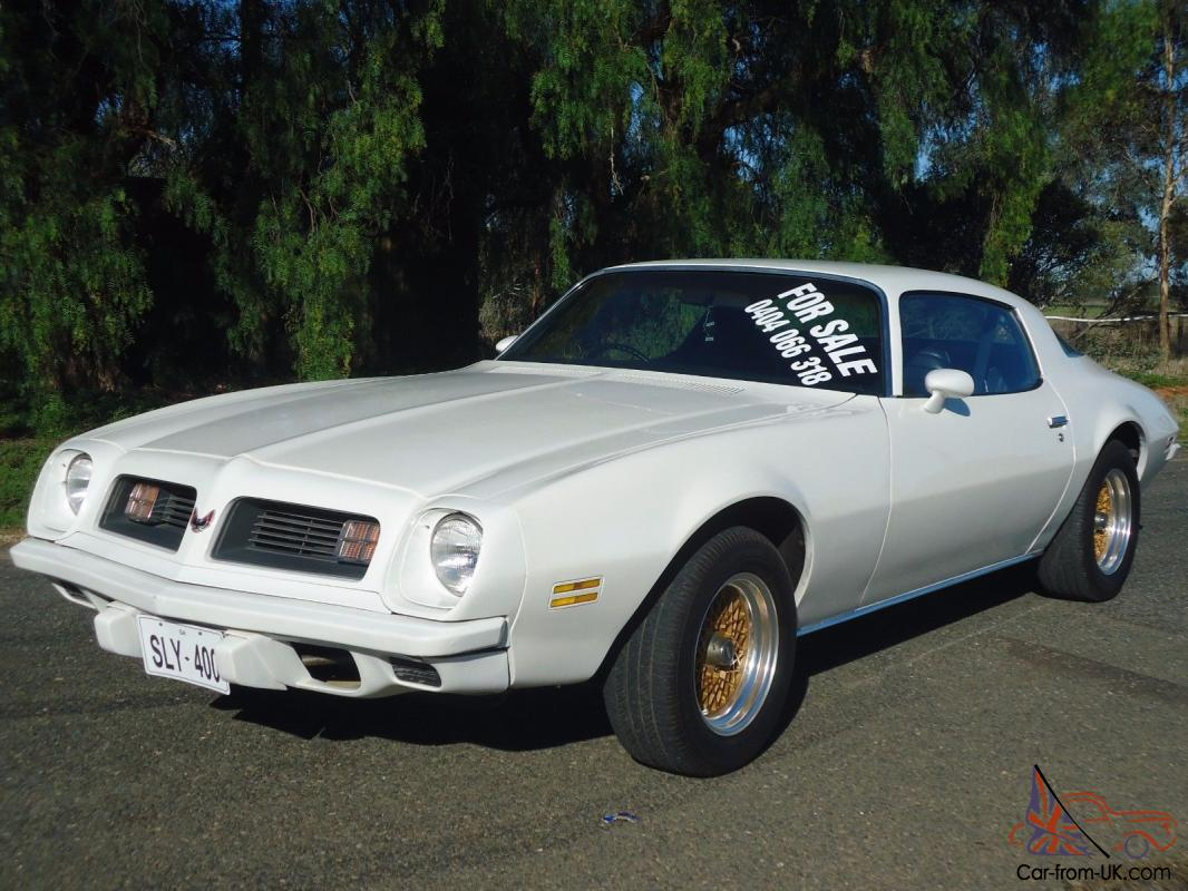 1975 Pontiac Firebird Right Hand Drive Suit Camaro Torana Monaro Gts Hq Buyer In Evanston Park Sa