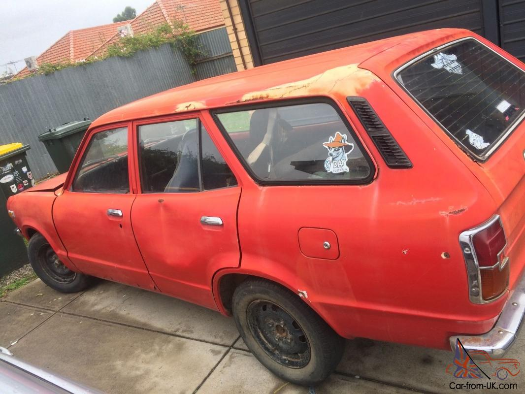 Mazda 808 Wagon 1976 4 Cylinder For Restoration Or Parts Car