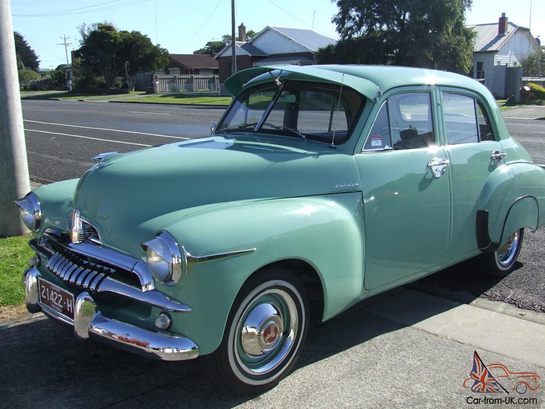 1955 Fj Holden Sedan In Portland Vic