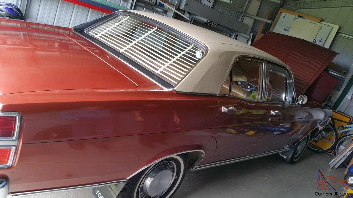 ZD 71 Ford Fairlane 500 V8 351 Auto 9 Inch Diff Survivor Genuine K Code CAR