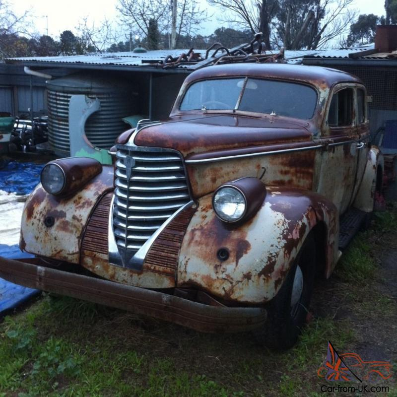 Oldsmobile Sedan 1938 ROD OR Restoration Project In VIC