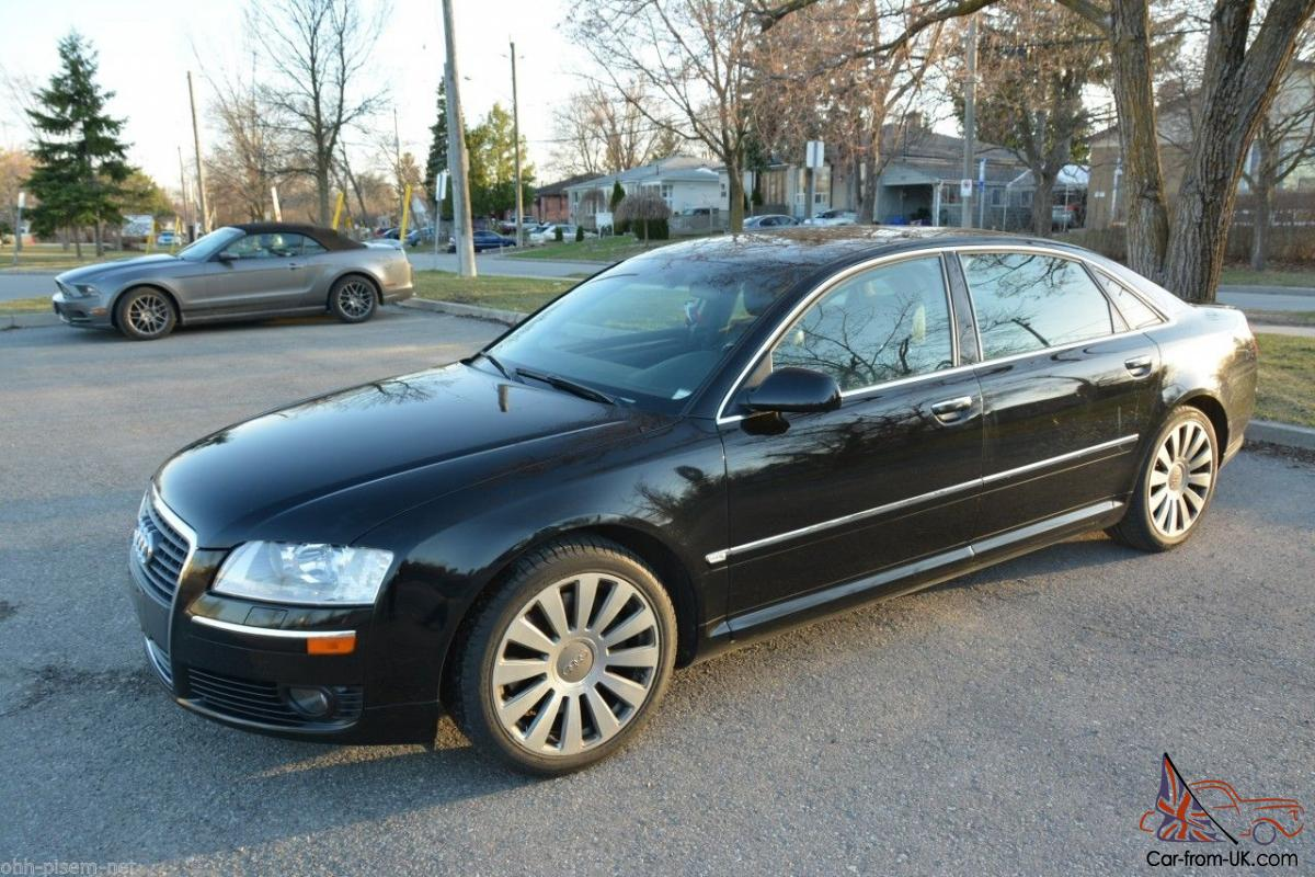 Audi A8 2006 Audi A8 L 4 2 Quattro Awd Black On Black