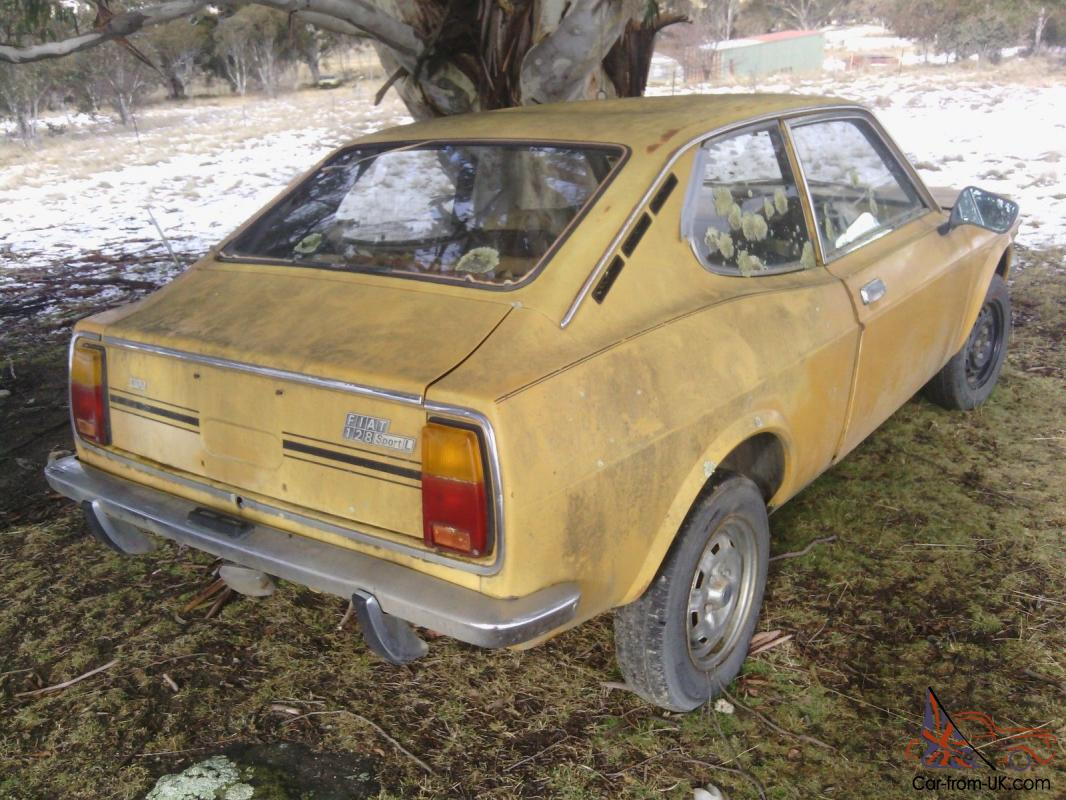Fiat 128sl Coupe Parts In Nsw