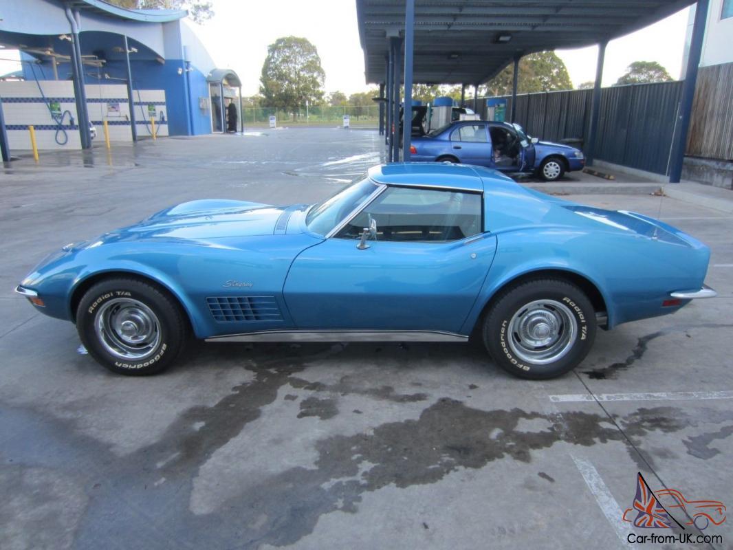 Corvette 1970 chevrolet corvette stingray : Chevrolet Corvette Stingray T TOP 350V8 4 Speed Manual Immaculate ...