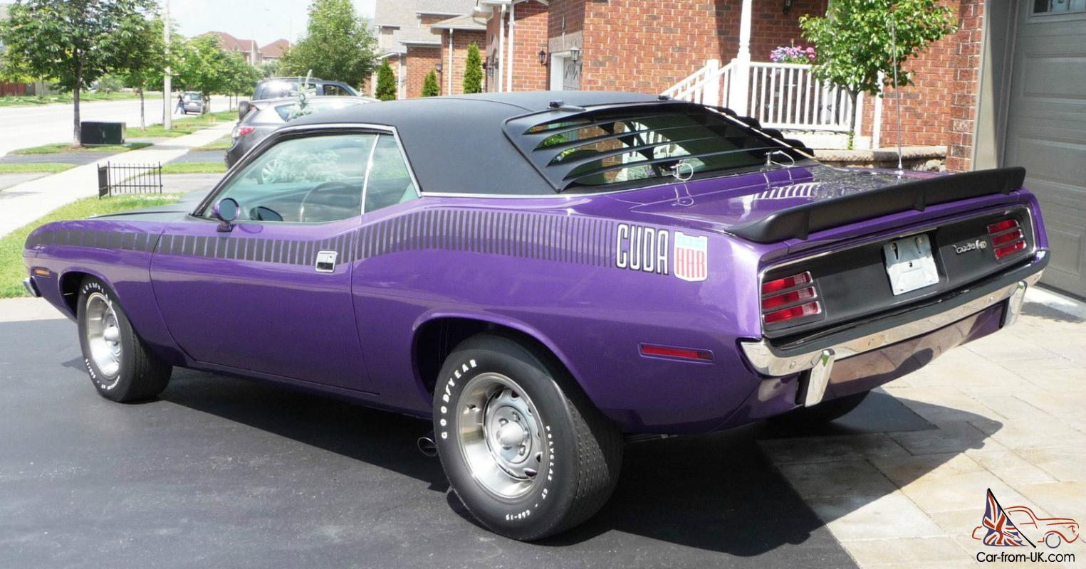 Plymouth Barracuda Aar