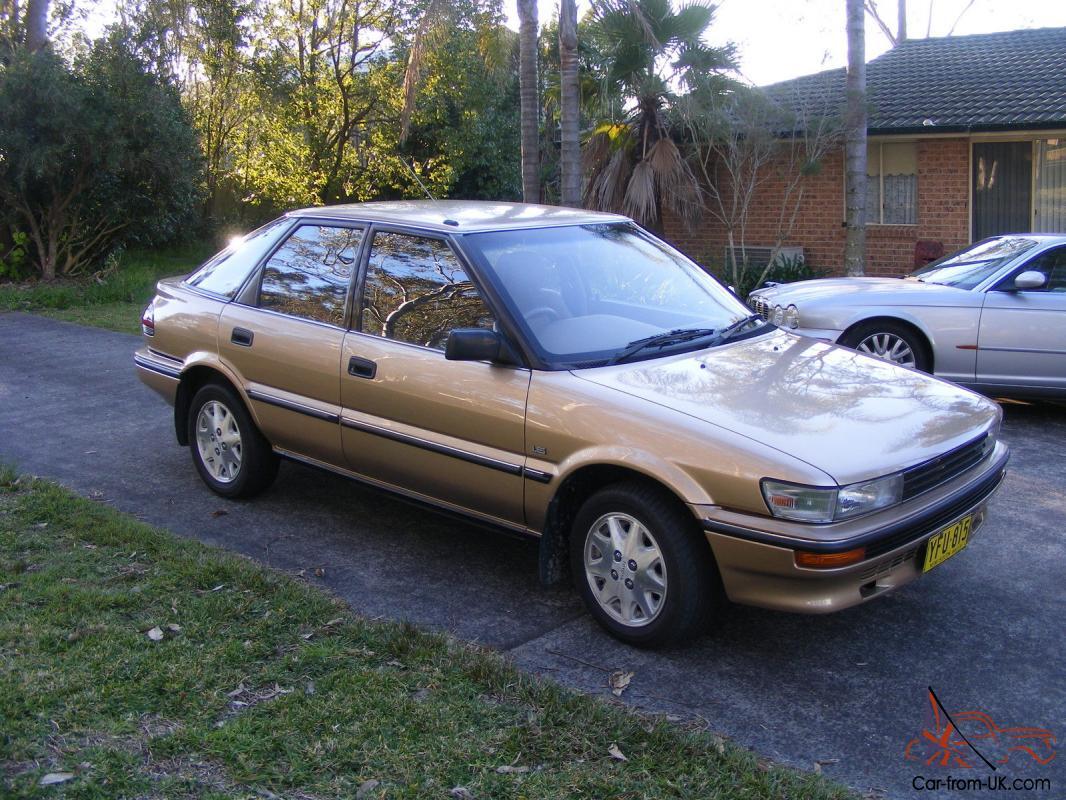1990 toyota corolla csx seca hatchback 93000ks auto immac sep rego no reserve in nsw 1990 toyota corolla csx seca hatchback