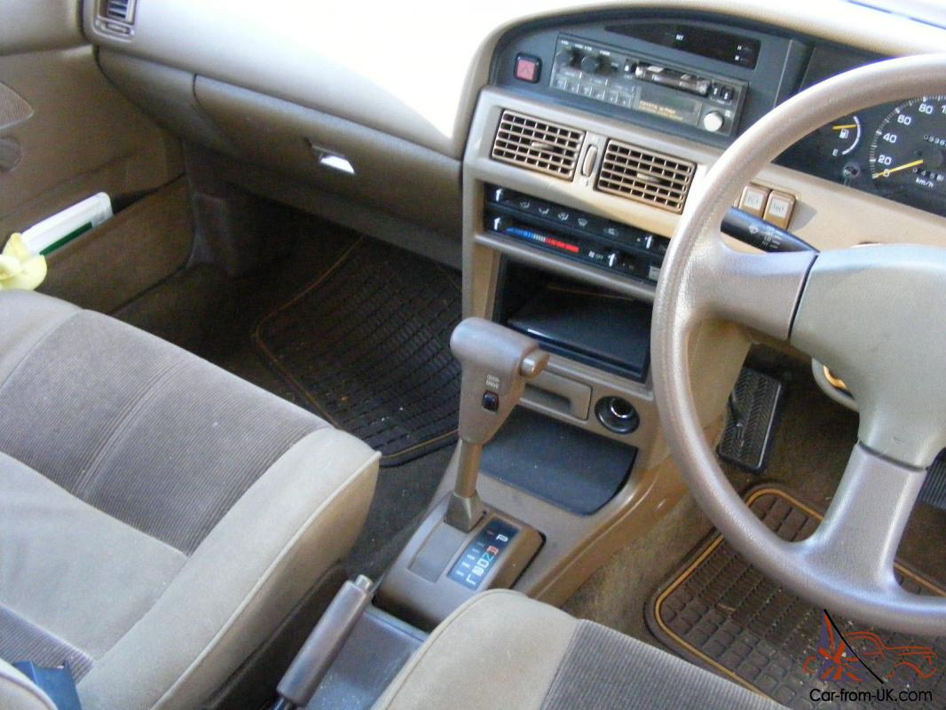 Download 1990 Toyota Corolla Interior