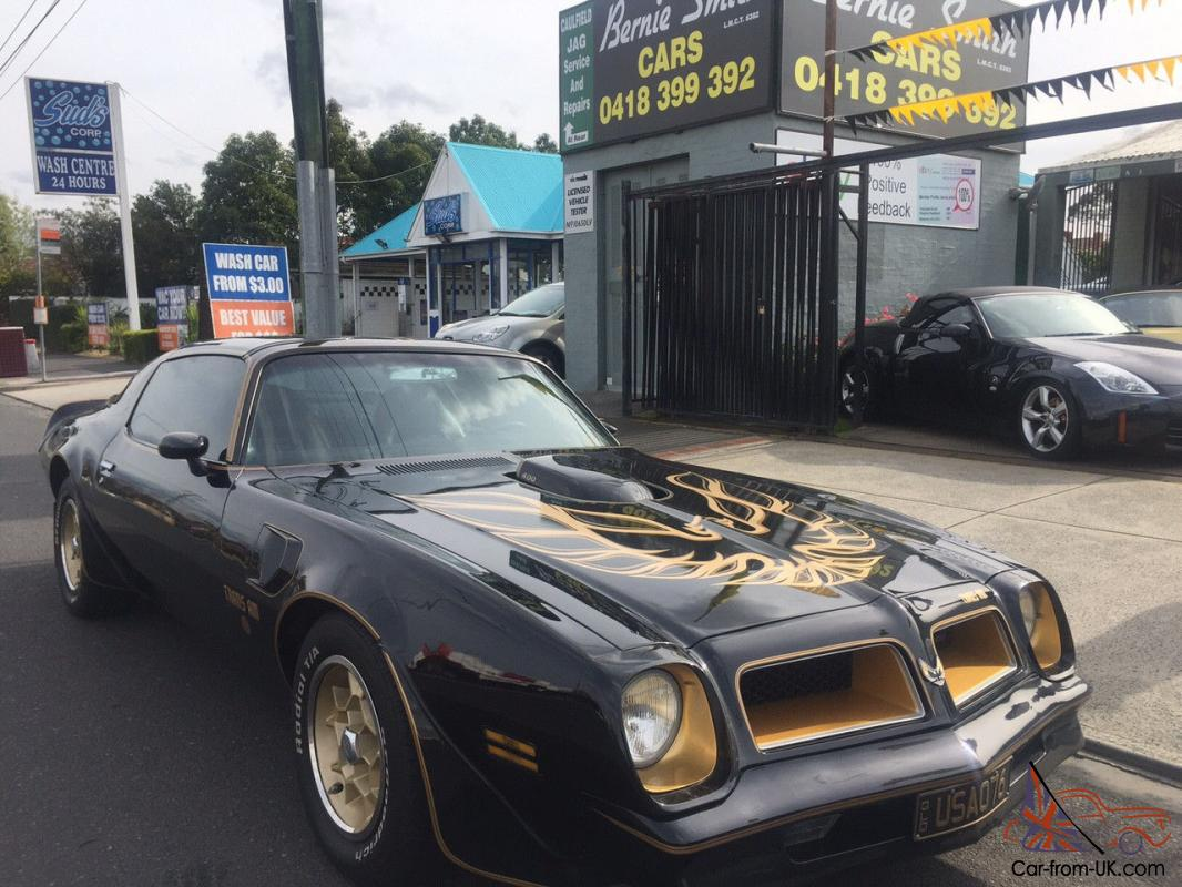 Pontiac Trans AM Rare Factory Hurst T TOP SE Immaculate Order