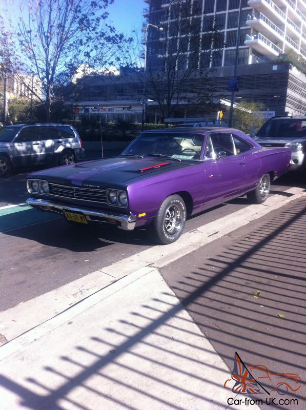 1969 Plymouth Roadrunner CAR Plum Crazy Purple in NSW