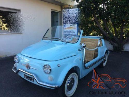 Fiat 500 Jolly Ghia Replica