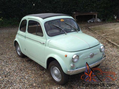 1963 Fiat 500 Nuova D