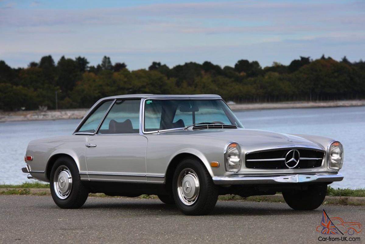 Mercedes-Benz : SL-Class W113 Pagoda