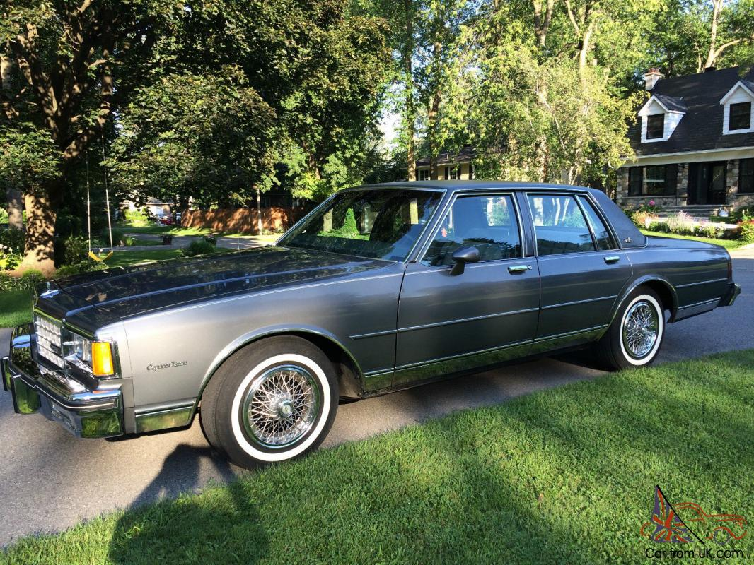 All Chevy chevy caprice 1985 : All Chevy » 1985 Chevy Caprice Classic - Old Chevy Photos ...