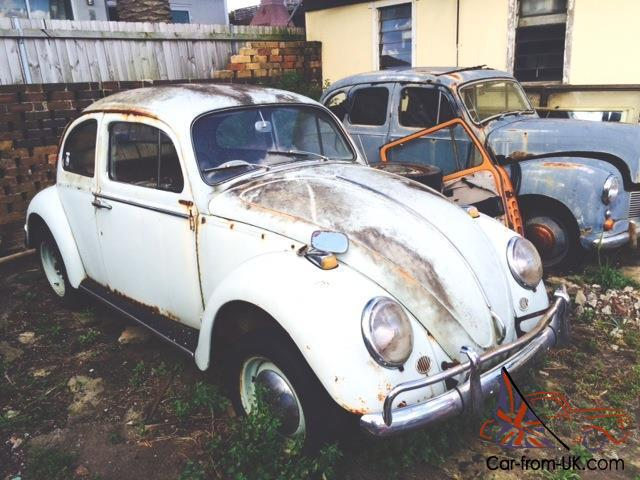 Vw Beetle 1300 Type 1 Complete Manual 60s Petrol 1960s Unreg Wrecking Parts Bug In Nsw