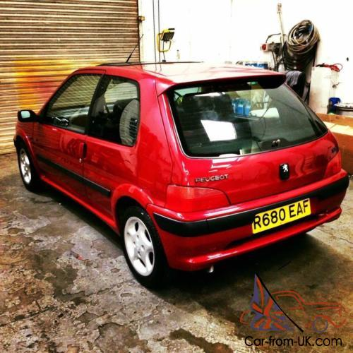 1998 Peugeot 106 Gti Totally Original Outstanding Example Full Service History