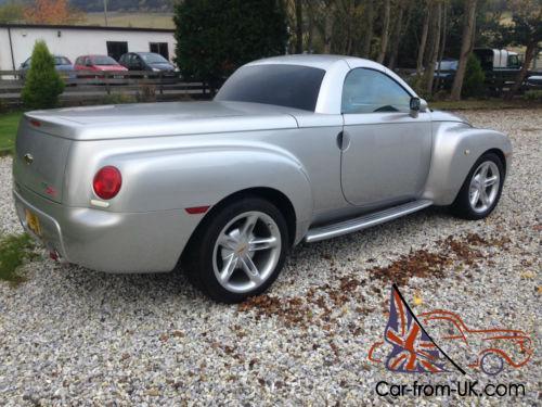 Chevrolet Ssr Convertible Pick Up