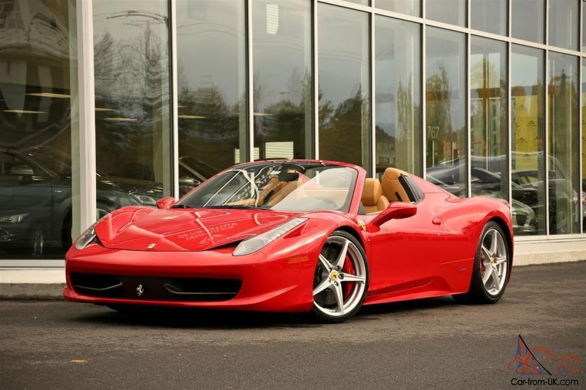Ferrari 458 458 Italia Spider