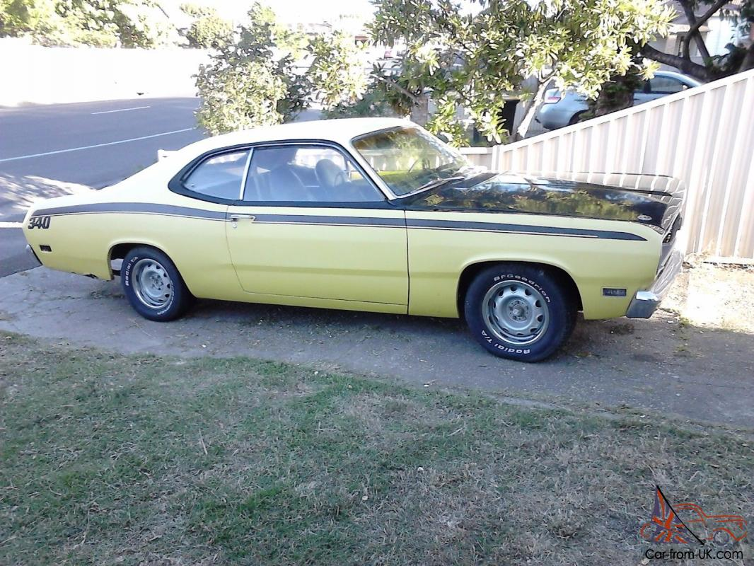 71 Plymouth Duster 340 In Vic