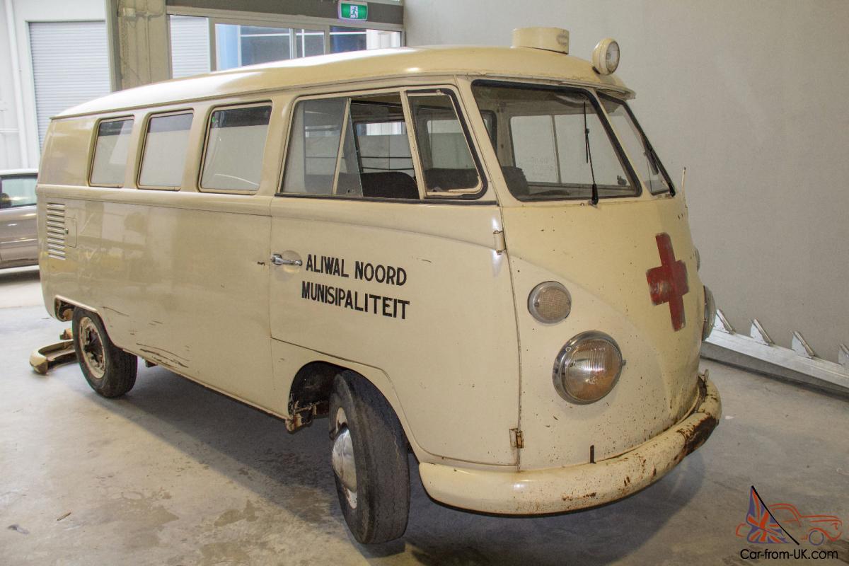 1965 VW Kombi Ambulance RHD in QLD